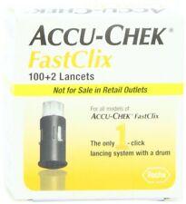 Accu-Chek FastClix Lancets, 102 Ct (6 Pack)