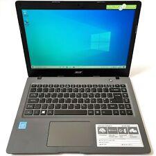 Acer Aspire One Cloudbook Intel Celeron 1.60GHz 2GB 32GB eMMC Windows 10 Grey