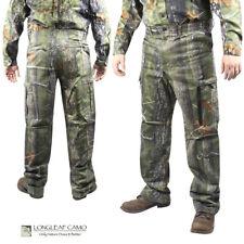 Longleaf Camo 6-Pocket Camo Pants (XL)- AT Green