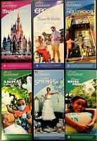 2021 Walt Disney World Theme Park Guide Maps - 6 Current Maps!! ++ BONUS !!!