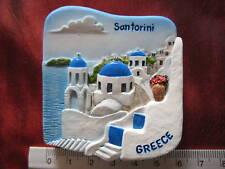 Santorini Greece Greek Islands Volcanic Caldera 3D Fridge Magnet Refrigerator