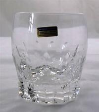 Villeroy & and Boch IRIS old fashioned whisky tumbler glass 24% lead crystal NEW