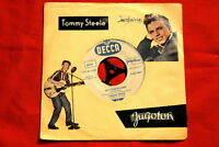 "TOMMY STEELE ROCKABILLY UNIQUE RARE EXYU 7"" PS"