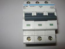 HAGER ND 306 d6 6 amp 10kA 464306 triple pole RCM disjoncteur.