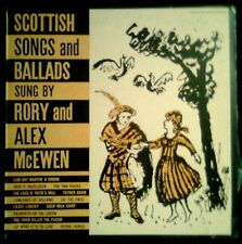 SCOTTISH Songs And Ballads - Rory & Alex McEwen - SPAIN LP Folkways / Dial 1983