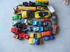Large Lot of 1970s-90s Era Plastic and Diecast Cars Trucks More Look