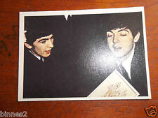 THE BEATLES DIARY TOPPS T.C.G. GUM TRADING CARD COLOUR / COLOR 1965 CARD NO.8A