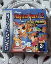 Magical Quest 2- Nintendo Gameboy Advance GBA- Version EU- COMPLET- RARE
