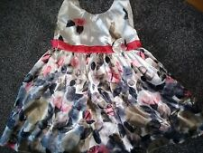 Beautiful Girls Summer/Party Marks & Spencer Lined Dress 2-3 Years Ex Con