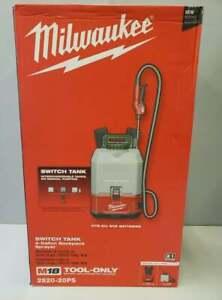 MILWAUKEE 2820-20PS M18 SWITCH TANK INTERCHANGEABLE 4-GALLON BACKPACK SPRAYER