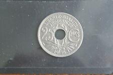 25 CENTIMES LINDAUER 1936  RARE ETAT SUP +
