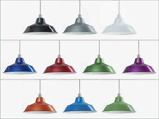 Metal Retro Ceiling Pendant Light Shade Easy Fit Vintage Cafe Kitchen Lampshade