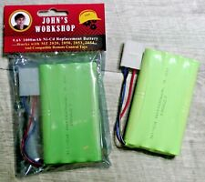 9.6V 1000mAh Ni-Cd Normal Capacity 3-Wire Battery Pack for MZ 1:10 Scale RC Cars
