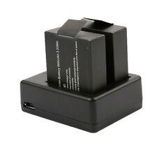 2 in 1 Dual Slot Charger Battery Charging Camera Dock SJCam SJ4000 SJ5000 SJ6000