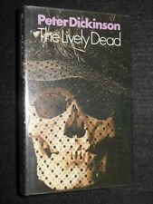 PETER DICKINSON; The Lively Dead - 1975-1st - Crime Fiction - Mystery Hardcover