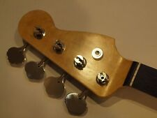 ALL PARTS BASS NECK ROSEWOOD for FENDER JAZZ NEW PRO, Tuners