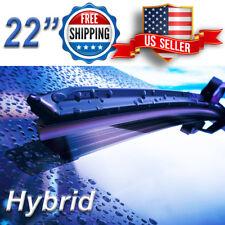 22 Inch Wiper Blades All Season Windshield J-HOOK Hybrid Style *Premium Quality*