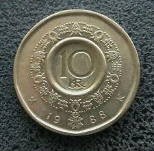 Norvège 10 Kroner 1988 - Pièce du Monde -  [6310]