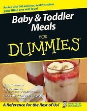 Baby and Toddler Meals For Dummies