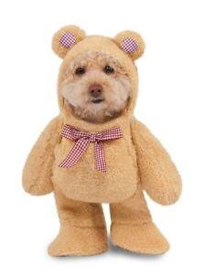 Rubies Walking Teddy Bear Pet Cats Dogs Suit Funny Halloween Costume 580329