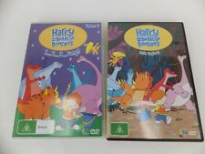 Harry and his Bucket full of Dinosaurs - 2 dvd's - vol 4 & lets Explore mixed ep
