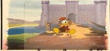 Donald Duck Careers set of 2 production cells with matching drawings