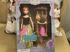 """11"""" Anna Deluxe Singing Doll Set Disney Store 2015 Authentic US Sellere,,"""