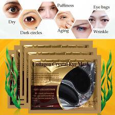 1 Pair Black Collagen Crystal Eye Mask Anti Wrinkle Dark Circles Gel Eye Patch