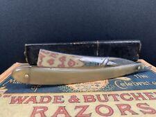 Antique/Vintage Wade & Butcher Sheffield Straight Razor