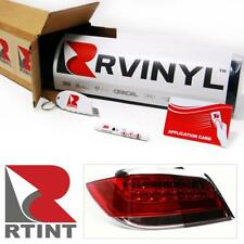 "Rtint Smoke Tint Head Tail Fog Turn Light Vinyl Wrap Sheet 12"" x 96"" W/ App Kit"