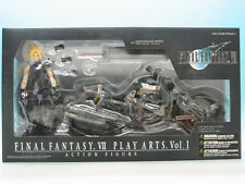 Final Fantasy VII Play Arts Vol.1 Cloud Strife & Hardy-Daytona Action Figure...