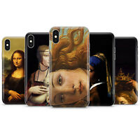 Iconic paintings Phone case cover fits for iPhone 4 5 6 7 8 11 XS max, X/XS, XR