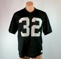 San Knit Sz L Oakland Los Angeles Raiders Marcus Allen #32 Authentic Jersey