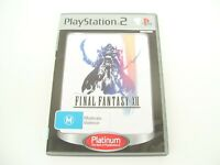 FINAL FANTASY XII PS2 GAME 12 PLAYSTATION 2 SQUARE ENIX