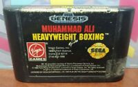 Muhammad Ali Boxing  -  Sega Genesis Rare Game Tested Works Authentic Original