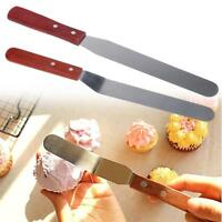 Stainless Steel Cake Spatula Icing Frosting Knife Cake Decorating Baking Tool