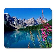 Scenic Nature Lake Mountains  Large Mousepad Mouse Pad Great Gift Idea