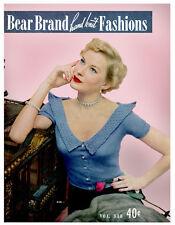 Bear Brand #338 c.1949 Vintage Hand Knitting Fashion Patterns for Women