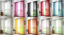 Rideau voilage à oeillets 140x240cm rideaux à voilage oeillets 140x240 cm ZAZEN