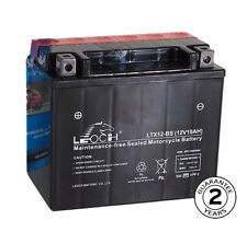 YTX12BS LEOCH Motorcycle Motorbike Maintenance Free Gel Battery 2 Year Guarantee