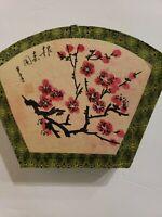 Vintage CHINESE CALLIGRAPHY Brush Pen Ink Writing Painting FAN BOX SET