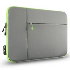 Runetz - Sleeve for MacBook 12 inch Laptop Air 11 Neoprene Cover Case GRAY/GREEN