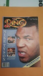 The Ring Boxing Magazine: Feb. 1990. Mike Tyson.