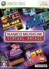 Used Xbox 360 Namco Museum Virtu Arcade MICROSOFT JAPAN JAPANESE JAPONAIS IMPORT