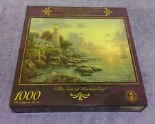 Thomas Kinkade The Sea of Tranquility 1000 Jigsaw Puzzle Sealed NOS Artist