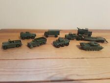 Collection of Lesney Diecast Military Vehicles