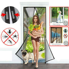Hands-Free Magnetic Door Net Mosquito Screen Mesh Anti Bugs Fly Insect Curtain