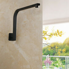 Matte Black Male/Female Connection Wall Mount Shower Arm Without Shower Head