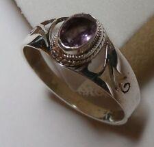 Handmade Not Enhanced Amethyst Fine Rings