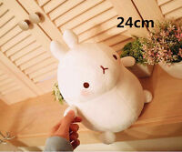 Hot Cute 9'' White Molang Rabbit Stuffed plush soft Toys Doll Kids Gift 2018